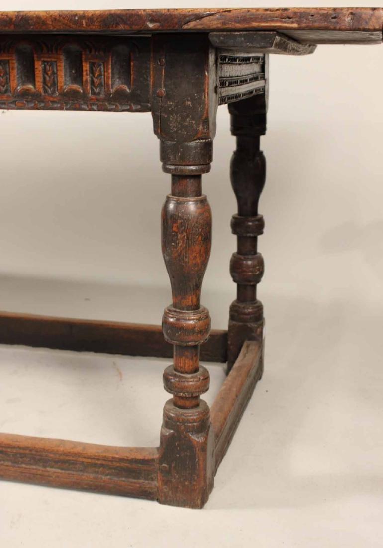 Jacobean Oak Refectory Table - 2