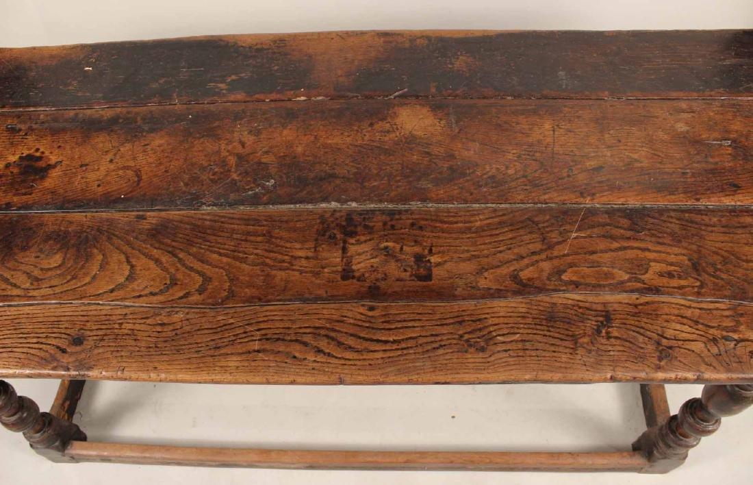 Jacobean Oak Refectory Table - 5