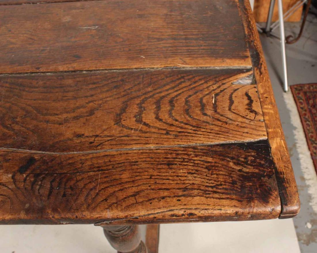Jacobean Oak Refectory Table - 6
