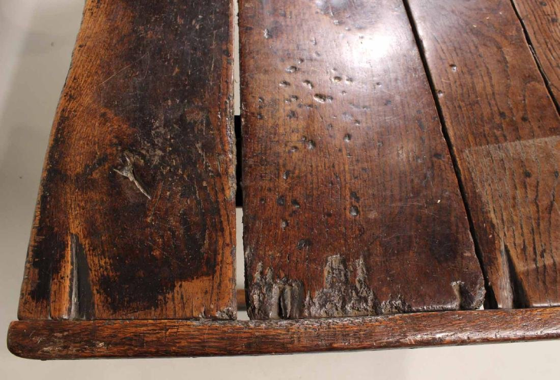 Jacobean Oak Refectory Table - 9