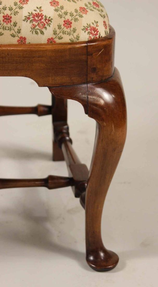 Queen Anne Walnut Side Chair - 3