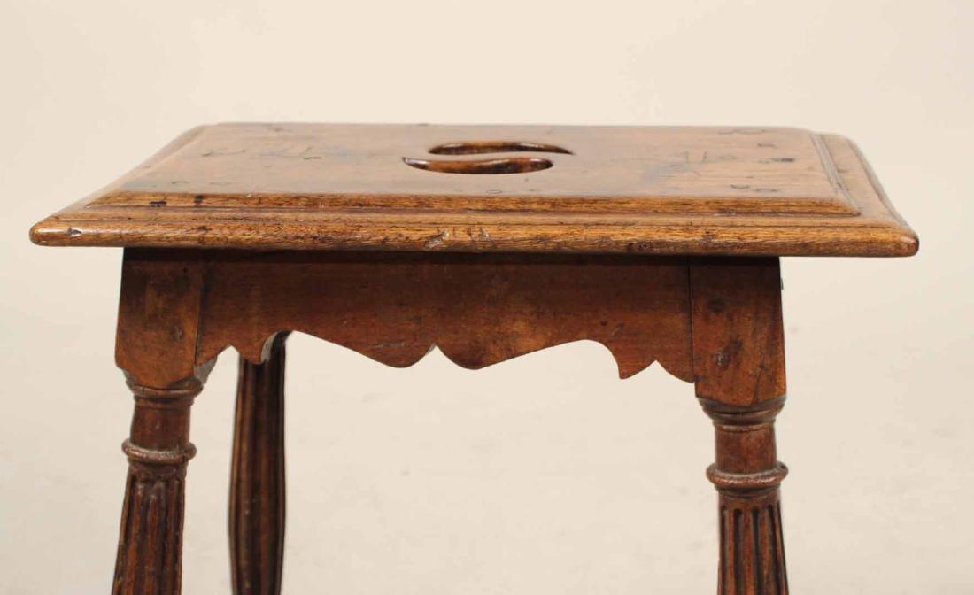 Baroque Style Oak Joint Stool - 5