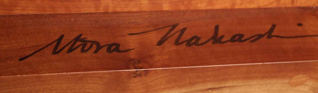 Mira Nakashima Figured Cherrywood Bedstead - 9