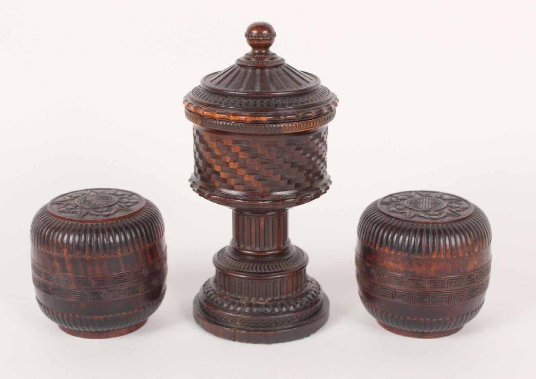 Group of Ten Wood Objects - 7