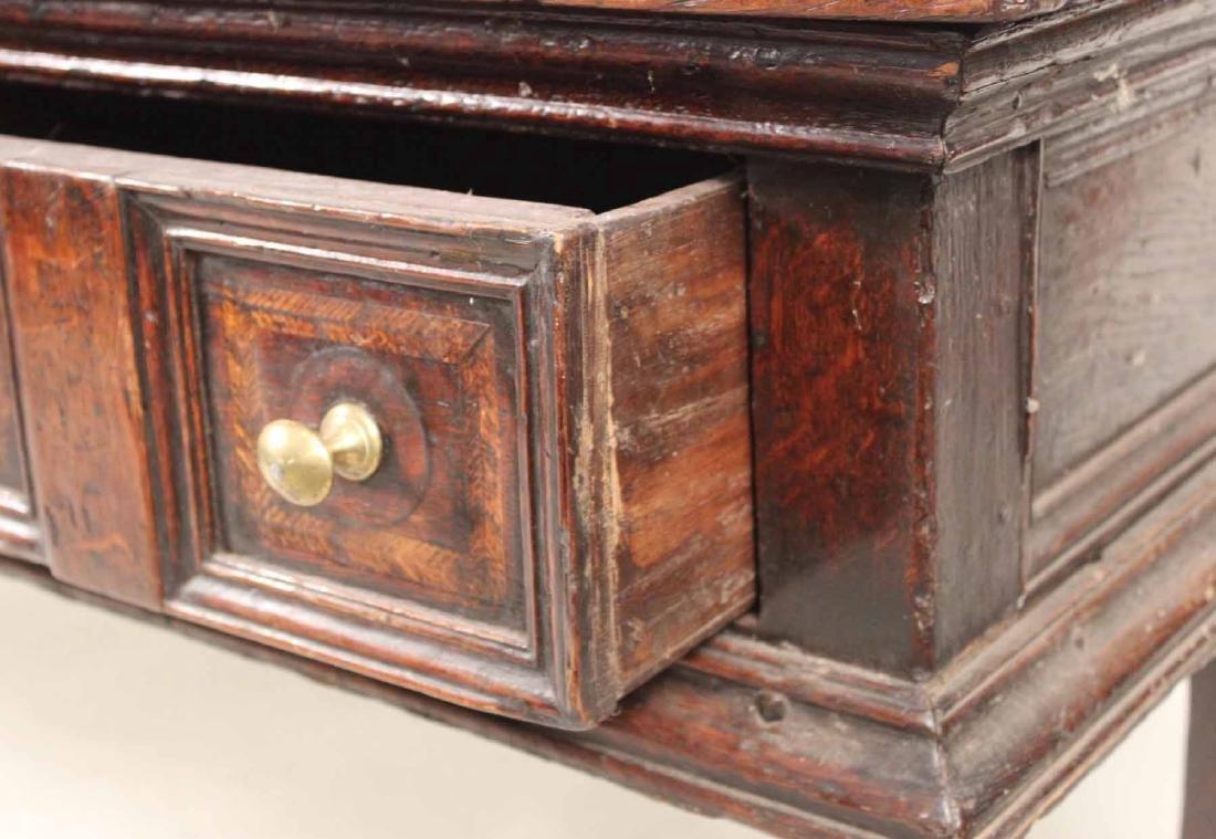 Jacobean Oak Dresser Base - 4