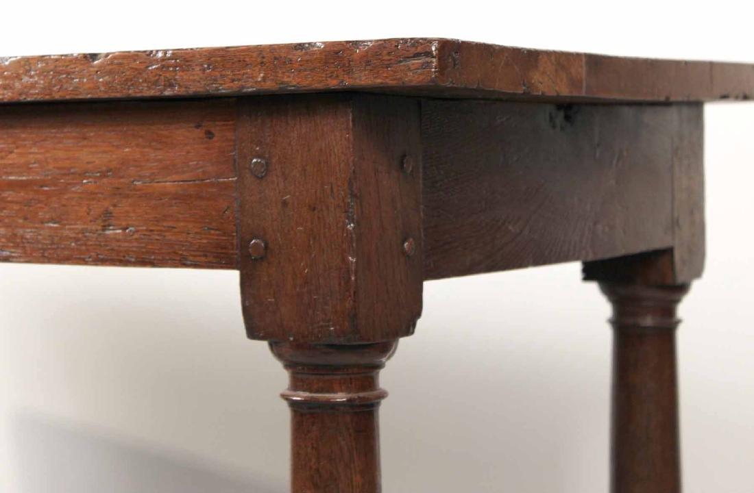 Baroque Oak Center Table - 3