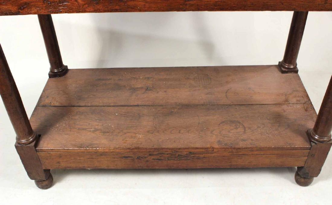 Baroque Oak Center Table - 4