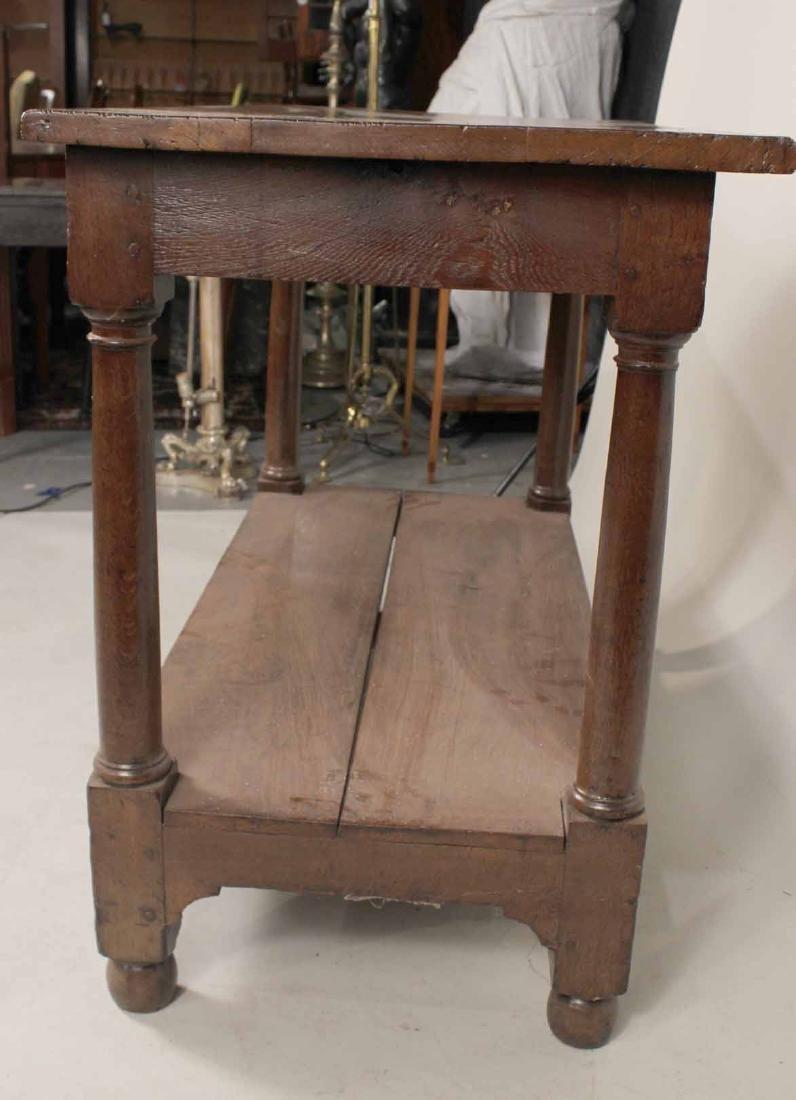 Baroque Oak Center Table - 6