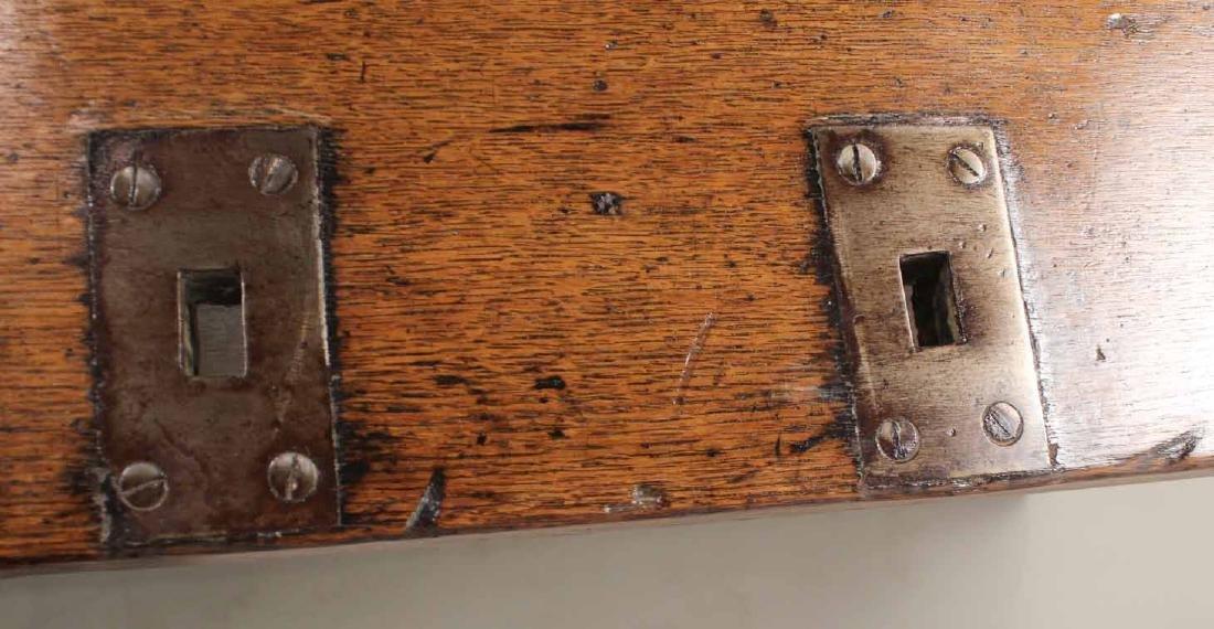 Baroque Oak Center Table - 7