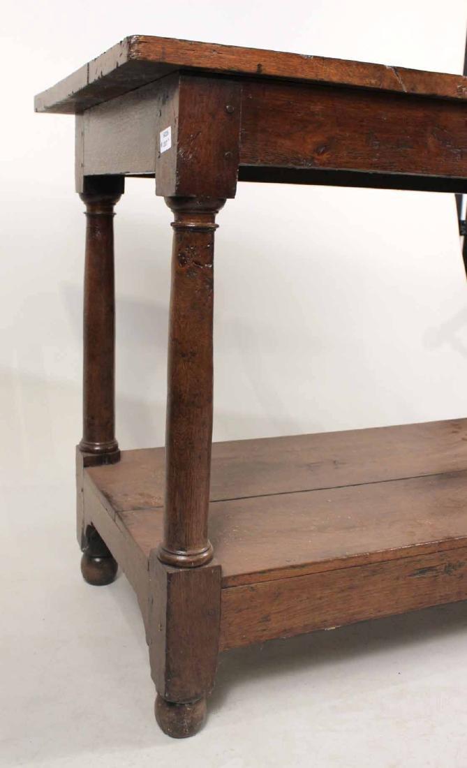 Baroque Oak Center Table - 9