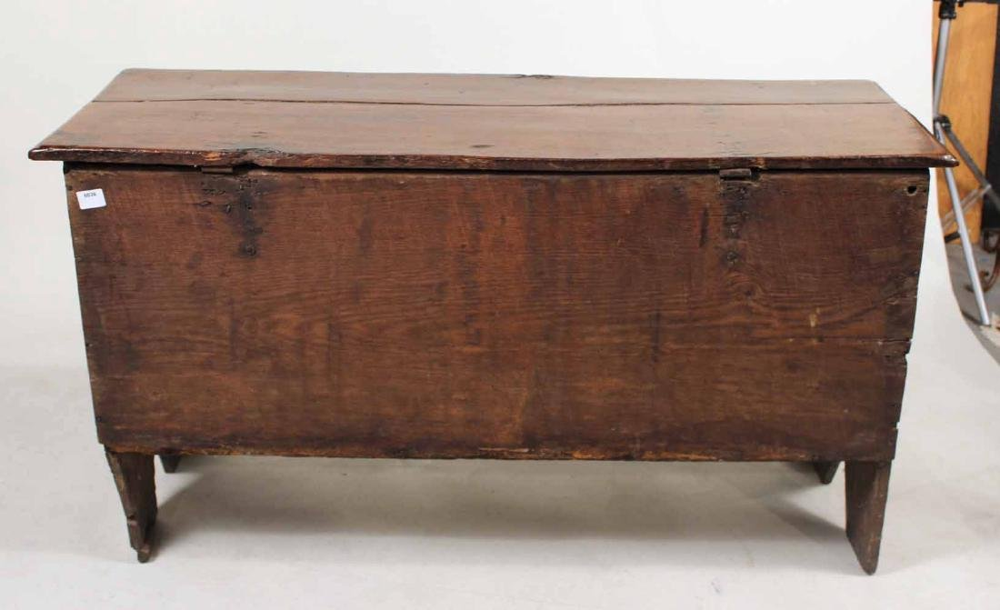 Jacobean Carved Oak Blanket Chest - 10