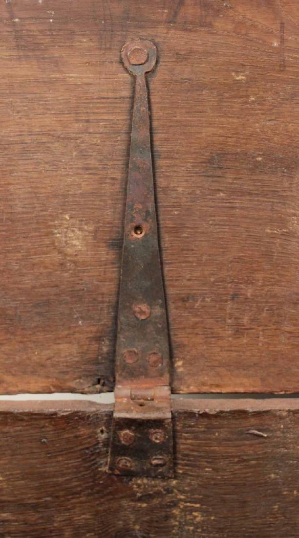 Jacobean Carved Oak Blanket Chest - 7