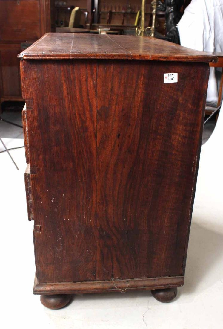 William and Mary Oak Chest of Drawers - 6