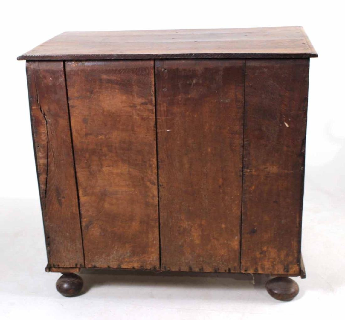 William and Mary Oak Chest of Drawers - 7