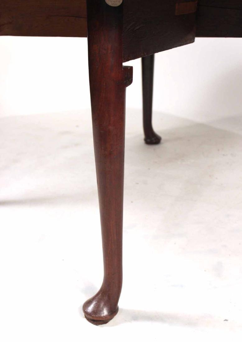 George I Walnut Drop-Leaf Dining Table - 5