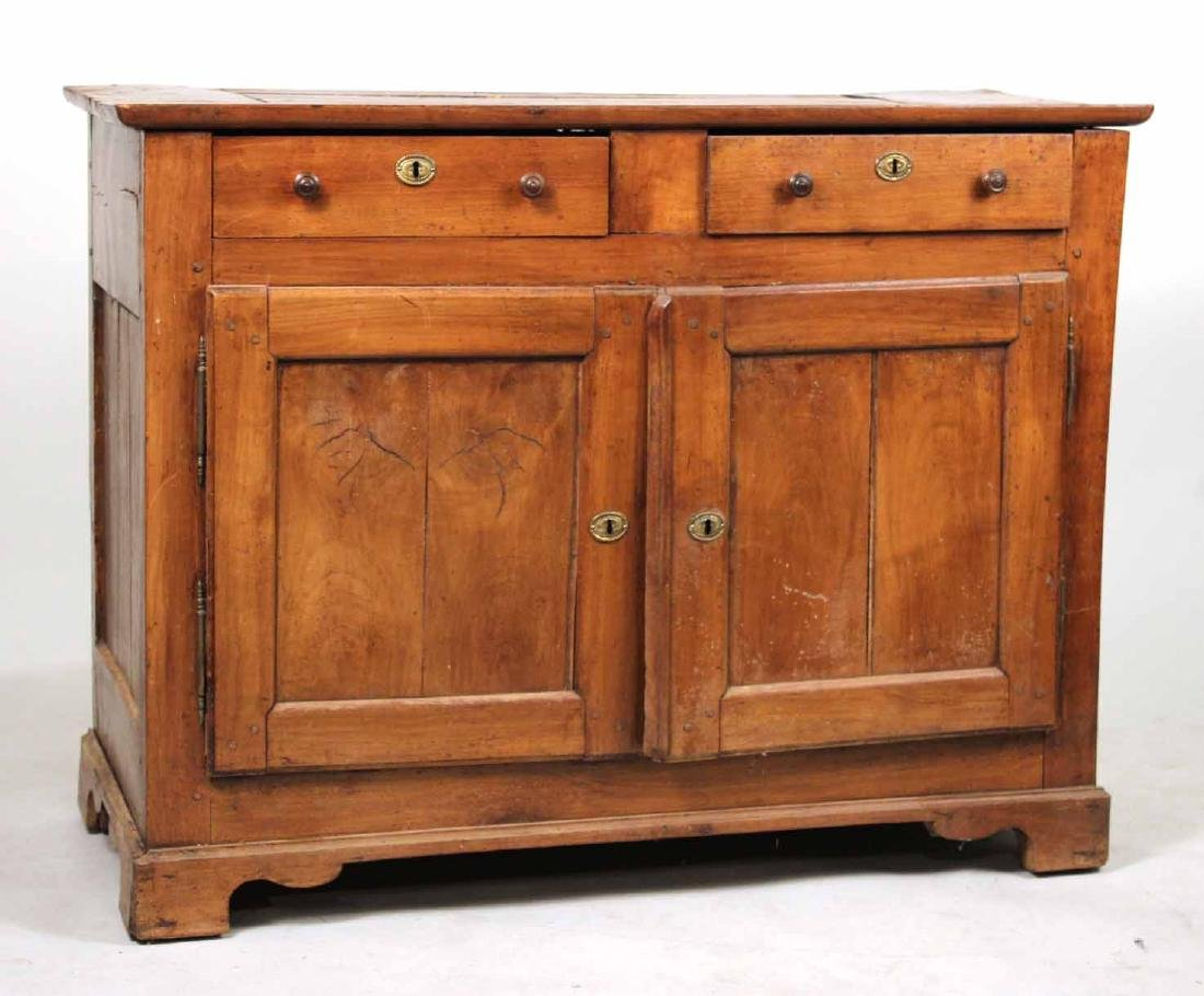 French Provincial Walnut Buffet