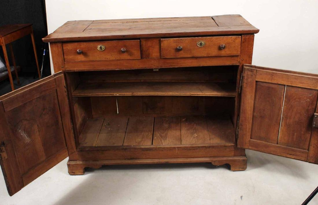 French Provincial Walnut Buffet - 6
