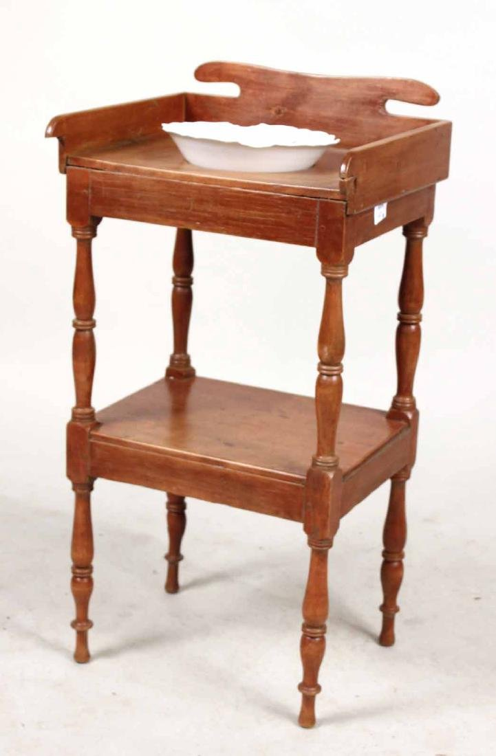 Federal Style Pine Washstand