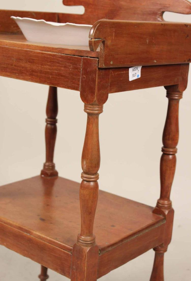 Federal Style Pine Washstand - 2