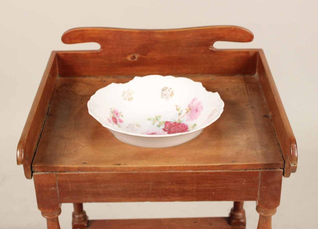 Federal Style Pine Washstand - 4