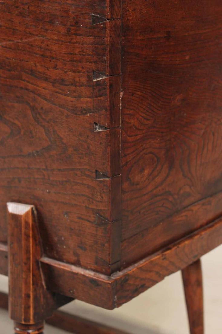 Jacobean Style Elmwood Dough Box - 5