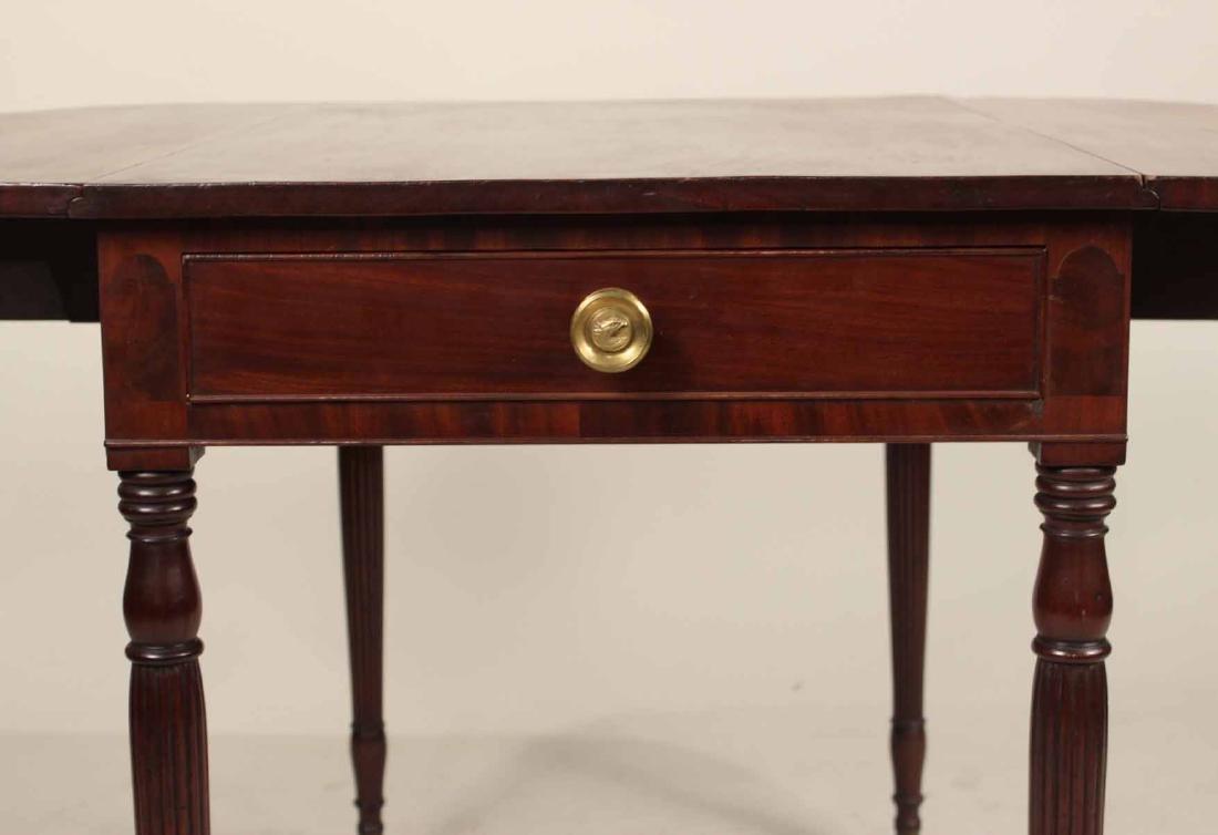 Federal Mahogany Drop Leaf Pembroke Table - 4