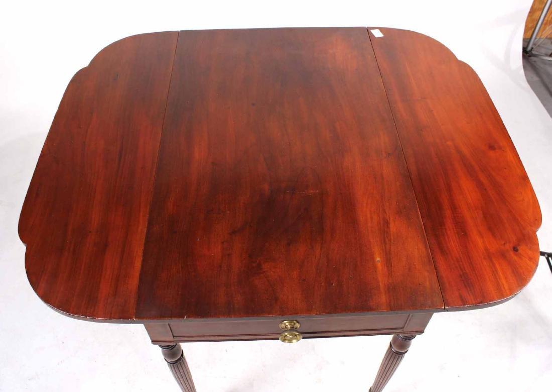Federal Mahogany Drop Leaf Pembroke Table - 5
