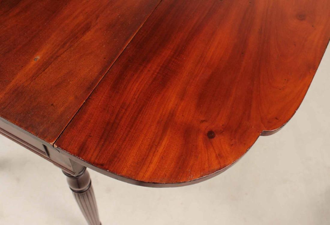 Federal Mahogany Drop Leaf Pembroke Table - 6