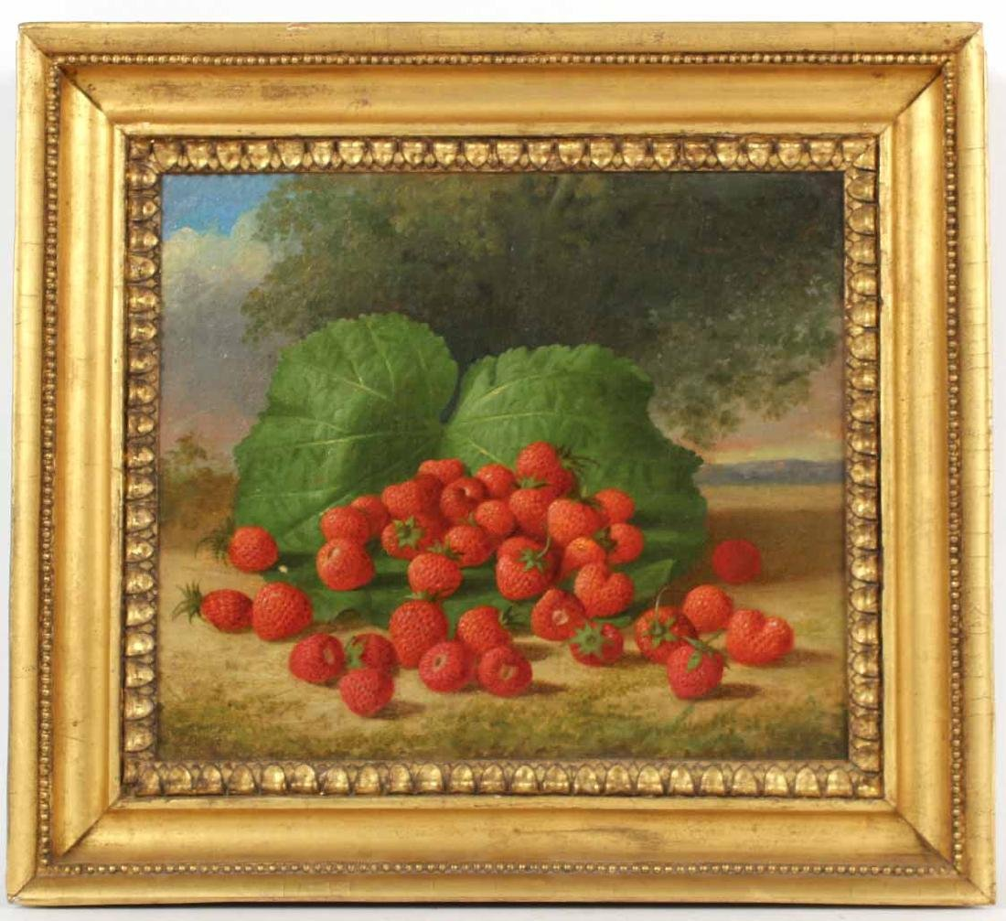 Oil on Canvas, Strawberries, George Henry Hall