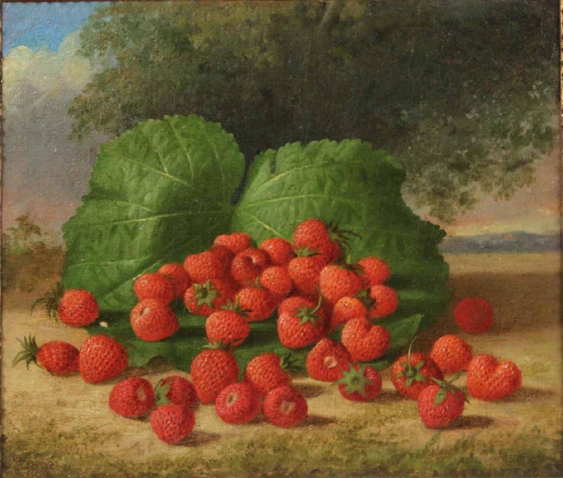Oil on Canvas, Strawberries, George Henry Hall - 2
