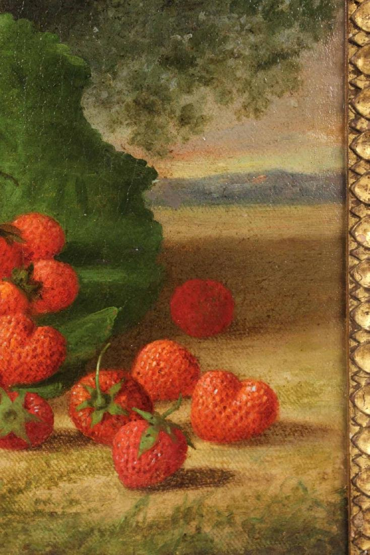 Oil on Canvas, Strawberries, George Henry Hall - 3