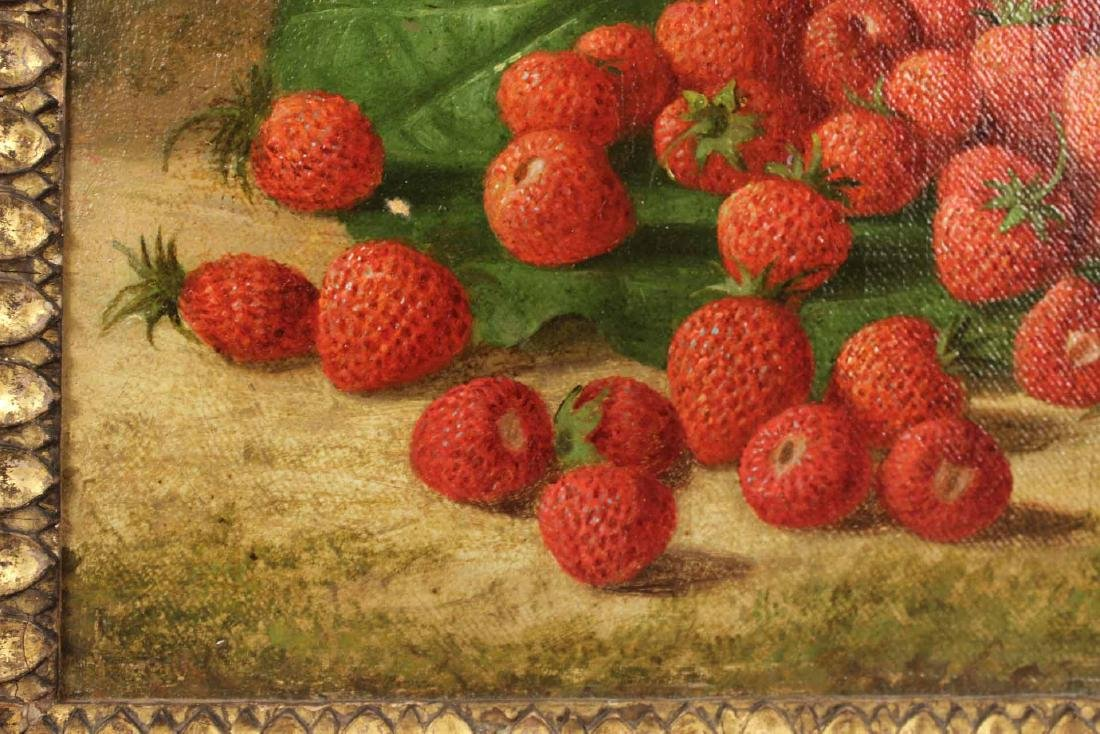 Oil on Canvas, Strawberries, George Henry Hall - 6