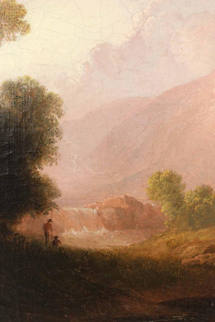 Two Oil on Canvas, Riverscapes, Thomas Doughty - 10
