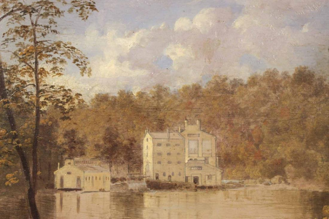 "Oil on Board ""Gilpin's Mill on the Brandywine"" - 3"
