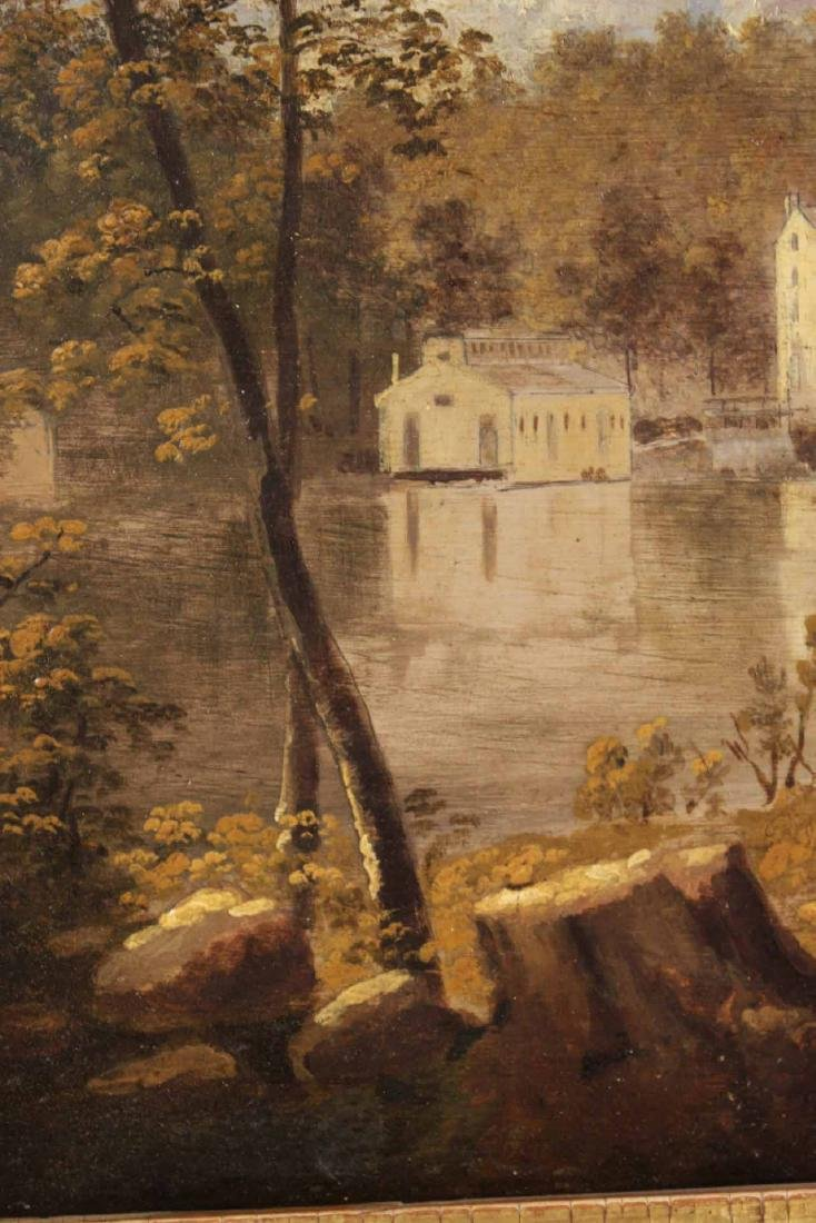 "Oil on Board ""Gilpin's Mill on the Brandywine"" - 6"