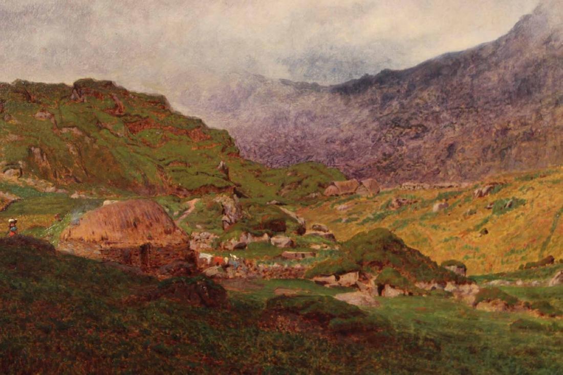 Oil on Canvas Bucolic Landscape - 4
