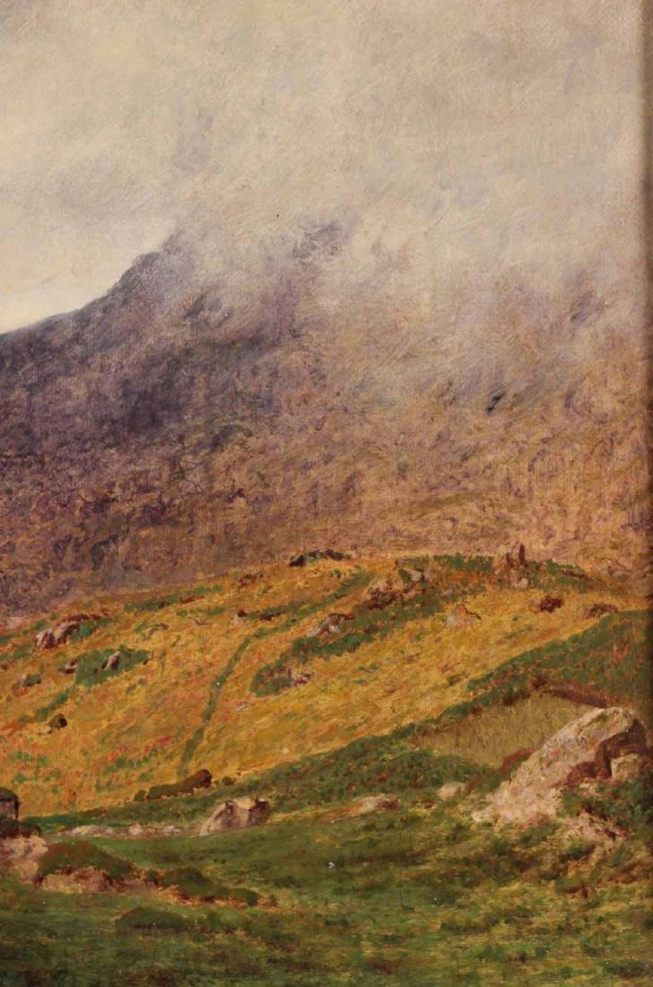Oil on Canvas Bucolic Landscape - 6