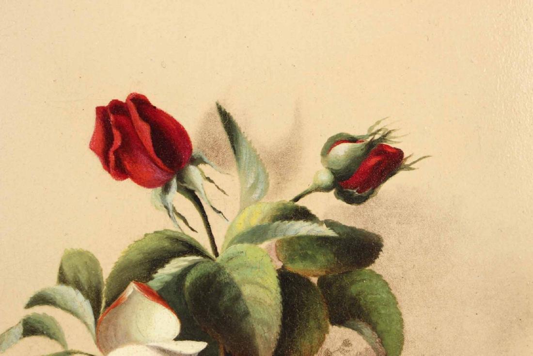 Oil on Board Floral Still Life - 4