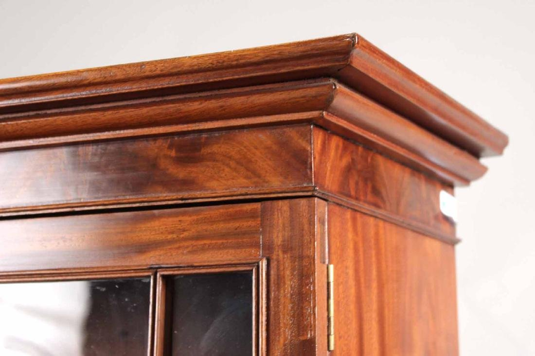 Late Federal Carved Mahogany Desk and Bookcase - 3