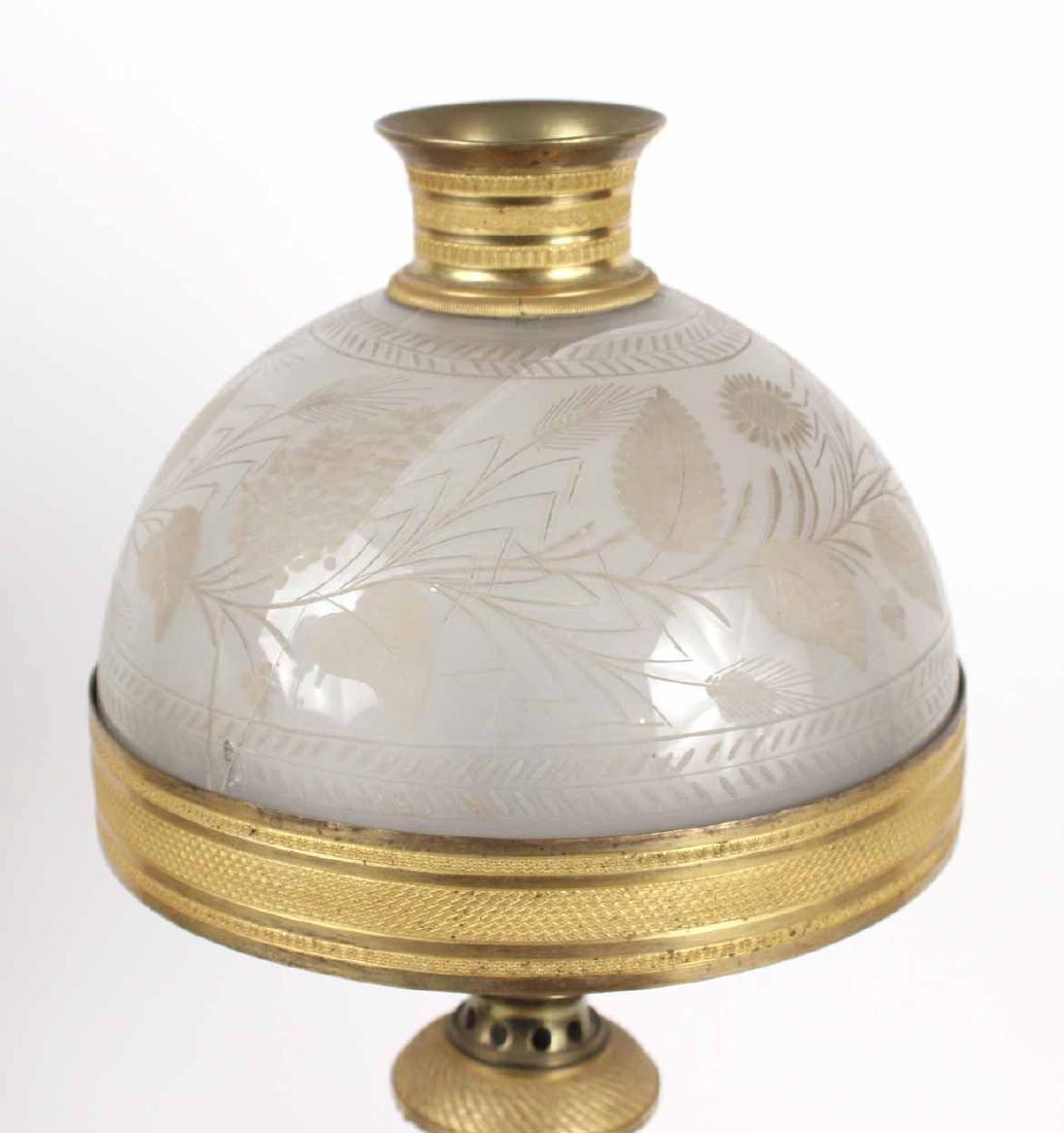 Pair of Gilt Bronze Sinumbra Fluid Lamps - 5