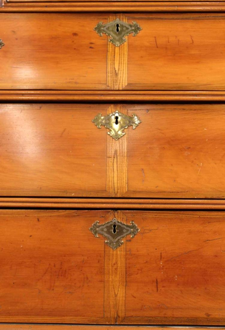 William and Mary Cherrywood High Chest of Drawers - 5