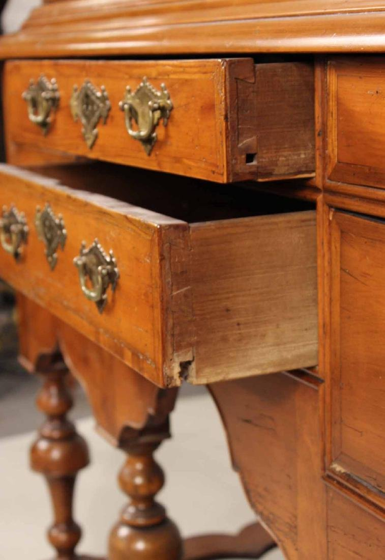 William and Mary Cherrywood High Chest of Drawers - 6