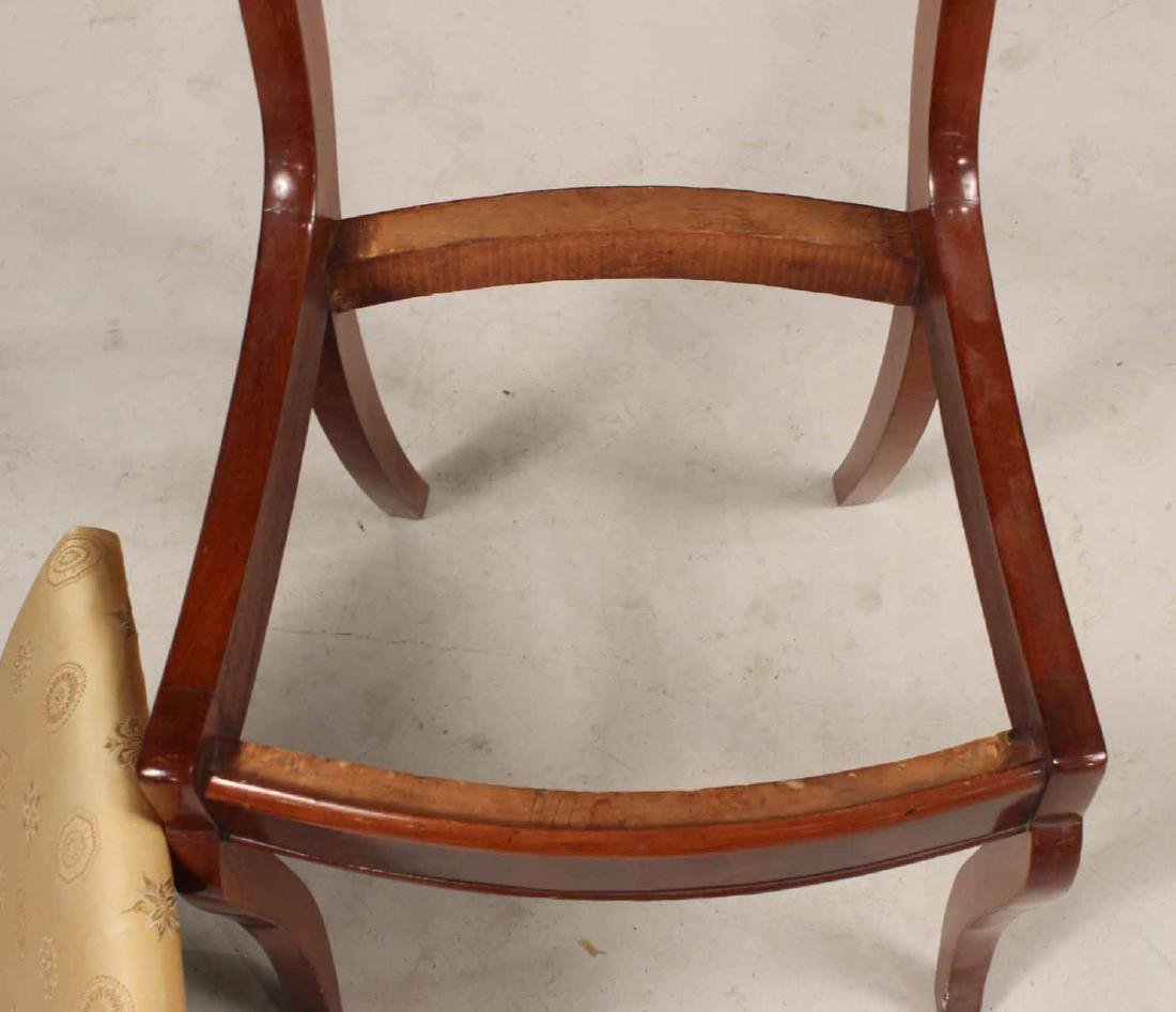 Three Victorian Carved Mahogany Side Chairs - 8