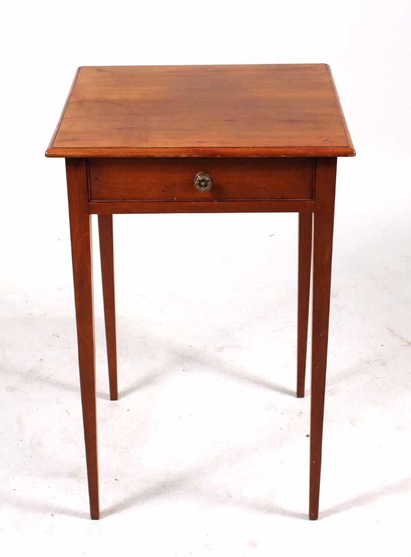 Federal Cherrywood One-Drawer Work Table - 2