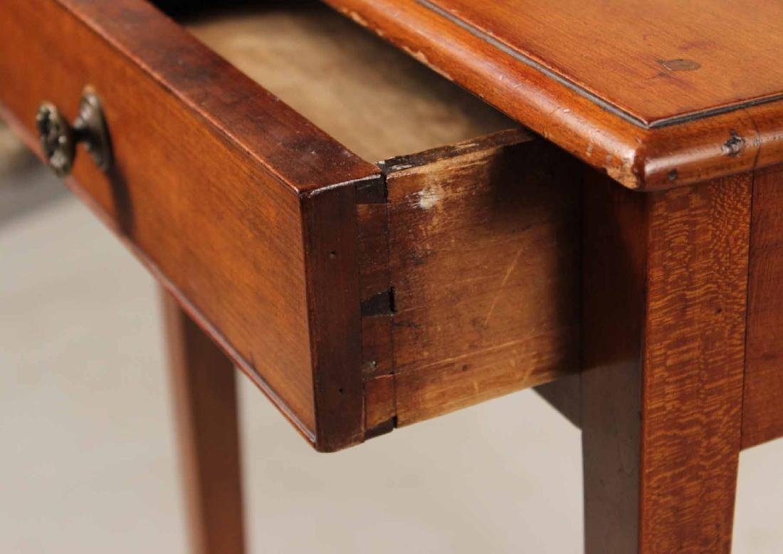 Federal Cherrywood One-Drawer Work Table - 4