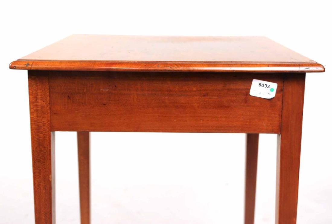 Federal Cherrywood One-Drawer Work Table - 7