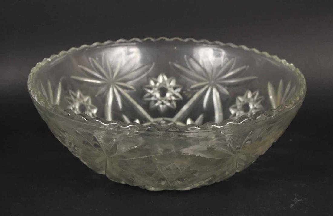Group of Glass Bowls and Plates - 2