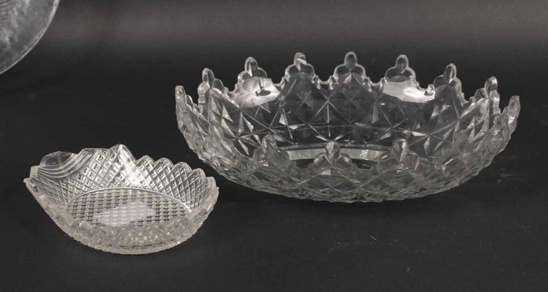 Group of Glass Bowls and Plates - 4