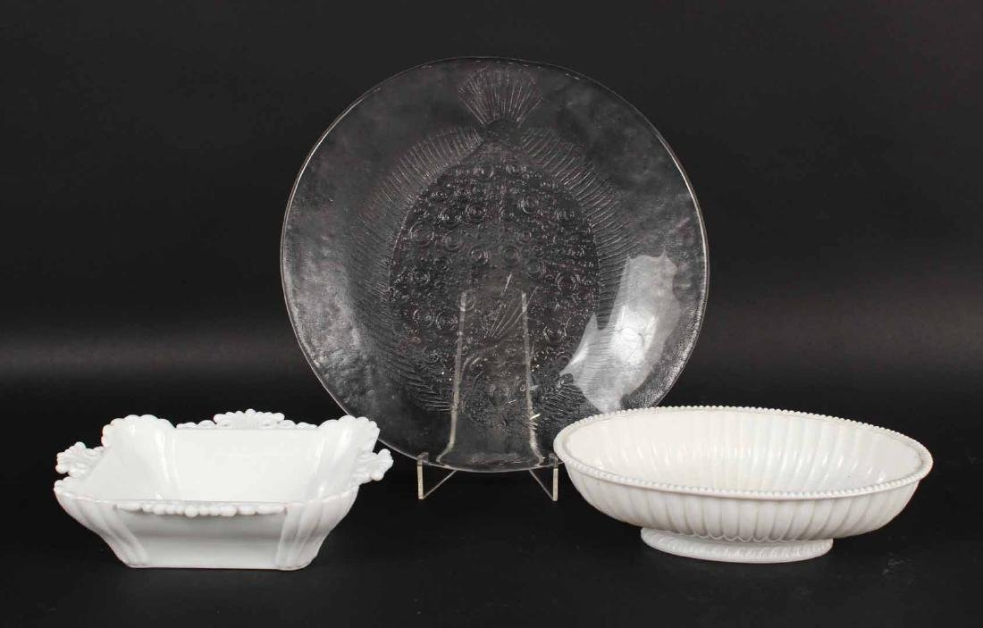 Group of Glass Bowls and Plates - 5