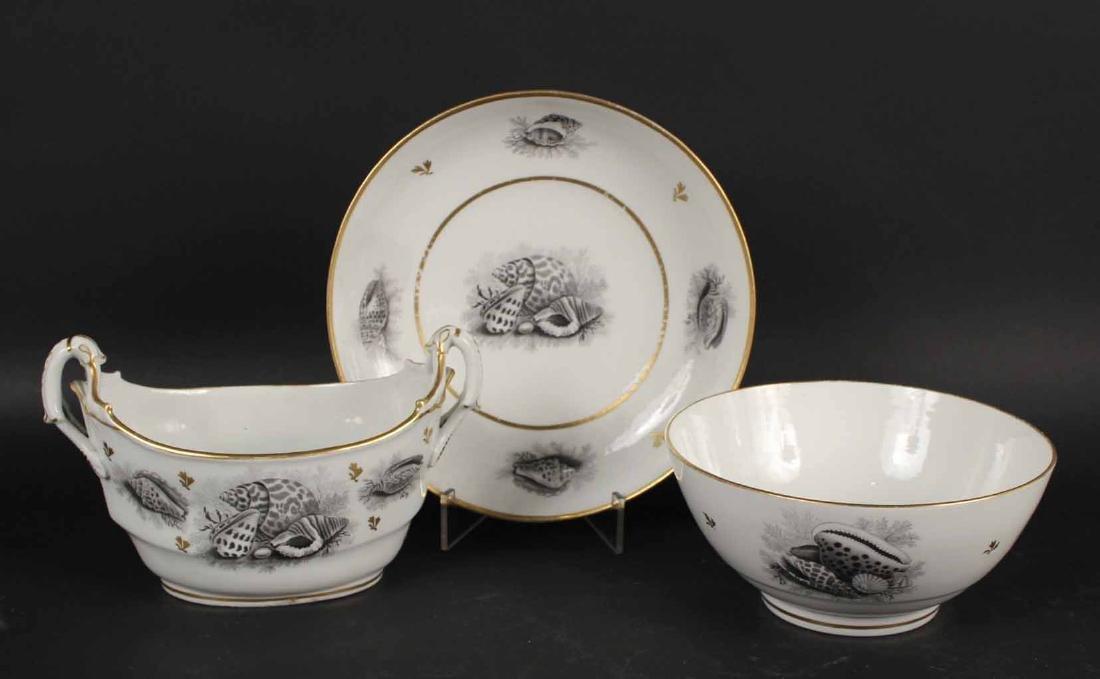Two Porcelain Transferware Dessert Service - 5